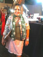 Jaqueline Navegantes (Zizi Anil) Tags: floral moda anil estilo blazer roupa zizi clientes casaco cliente vesturio inverno2011 ziziail