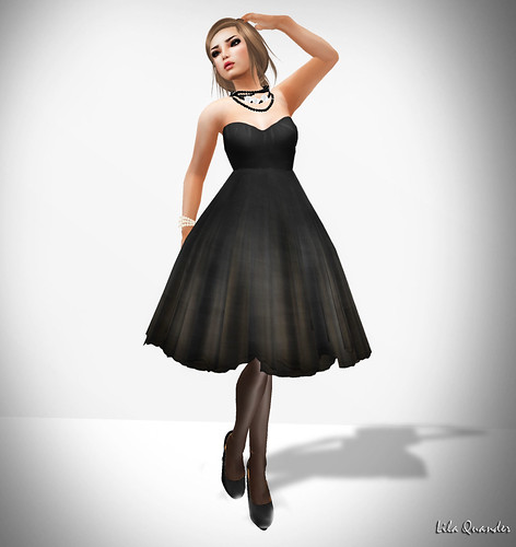 Vanitas Vesture - Languid Party Dress - Charcoa