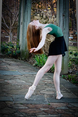 Josie's combre (TheLittleSwan) Tags: ballet back dance shoes bend dancer skirt pointe leotard
