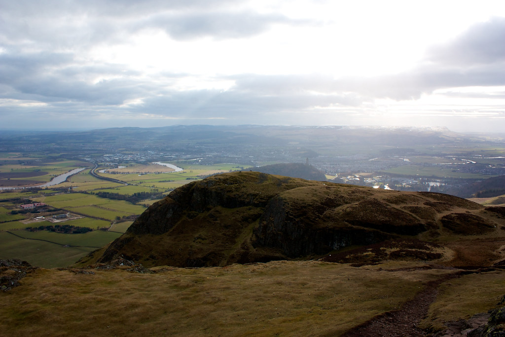 Stirling from Dumyat