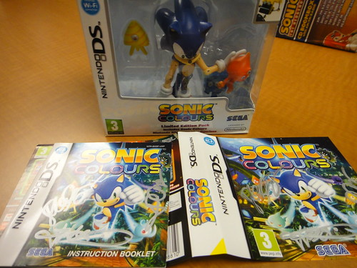 Sonic Colours UK Limited Edition Pack - DS