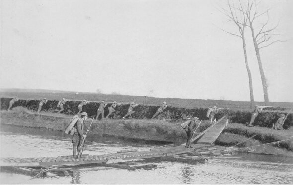 29.3 1918 Zingem Foot- Bridge