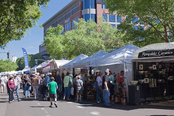 Tempe Festival of the Arts - Saturday Afternoon Shopping for Art