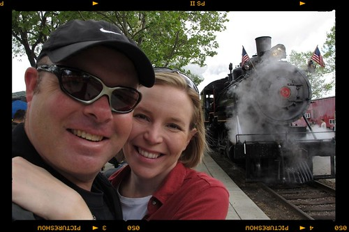 We once again woke the rainy skies Sunday morning and decided to head to the Fillmore Railfest instead of the trails. By the time we got there the rain had stopped and we enjoyed a rather pleasant morning in Fillmore. by BroAndDonna
