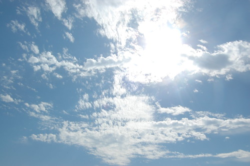 sky + clouds