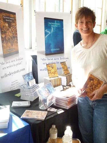 Fiction author Wellsley Stott @ RBF 2011
