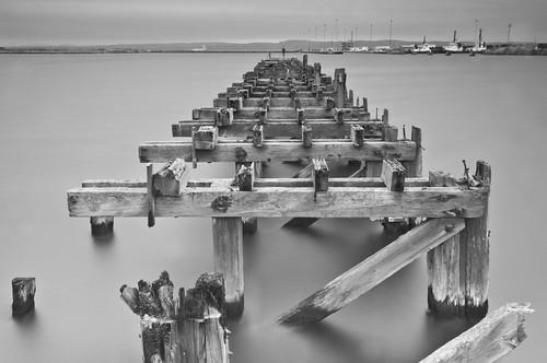 Old Pier Mono 2
