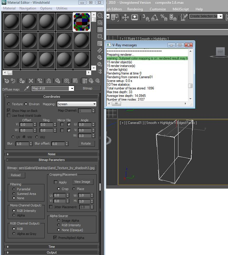 how to make glass in 3ds max vray