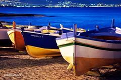 #003 (alex.scramuzza) Tags: italia barche palermo sicilia porticciolo aspra marebarche notturnebarche fotografiabarchebn
