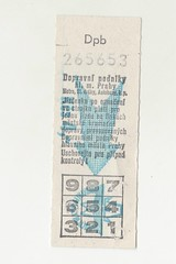 old metro ticket (mudsharkalex) Tags: tickets prague metro ticket praha czechrepublic tix