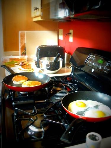 breakfast prep