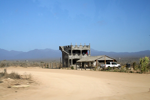 Building Outside Todos Santos