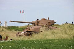 Sherman tank at the Utah beach museum France (Martin Pritchard) Tags: bridge cemetry france museum gold la utah war pegasus military german american sword beaches omaha normandy mere eglise caen arromanches juno mulberry cambe horsa ddasy ranvill overlordsainte