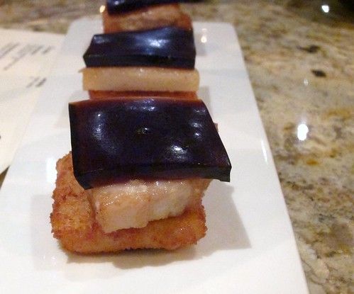 Pork Belly, Root Beer Jello