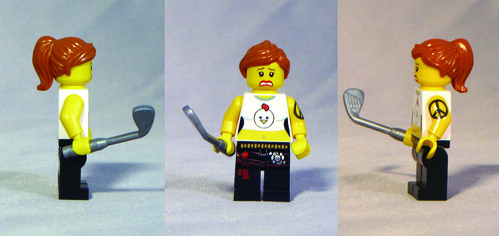 Custom minifig Chicken Little custom lego minifigure