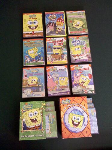 11 Spongebob DVD Set