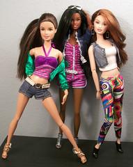 Teresa, Nikki and Drew (fashionisto2k) Tags: fashion dolls nikki barbie drew redhead spanish teen latin teresa latino