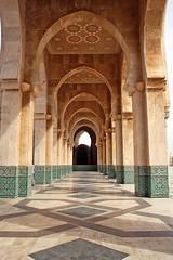 Casablanca-Hasan II Mosque-Ext (tinamjabry) Tags: 2 art canon al doors colours market muslim spice mosque morocco ii maroc maghreb souks arabesque fana hasan maghrib sahat