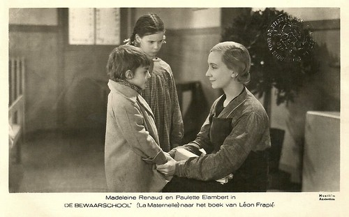 Madeleine Renaud in La Maternelle