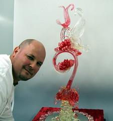 with me ;) (Zuckerschlosser) Tags: wedding roses art japan work swan crystal kunst valentine sugar clear chef pastry rosen dart schwaene sucre meister patissier konditor zuckerschlosser