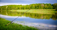 panorama of the fishing rod river (czdistagon.com) Tags: summer верхняяволга cz contax distagon 3514 czcontaxdistagon3514 landscape morninglight morning light grass fishing panorama czdistagon czdistagoncom aleksandrmatveev carlzzeiss zeiss fishingrod river nature water silence vacation holidays hiking russia rod volga