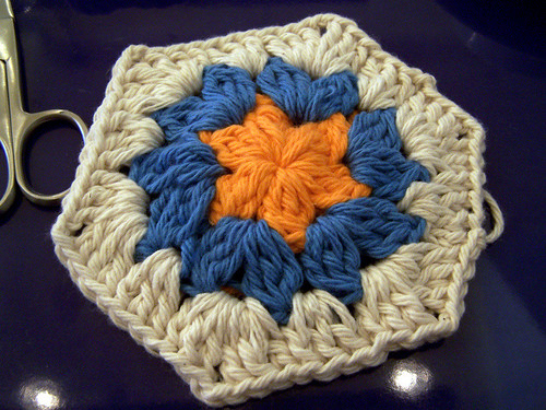 My First Crochet Hexagon