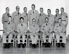 fifty years passes quickly (spysgrandson--thanks for 1,000,000 views!) Tags: uniform arm military father khaki 1960s sixties 1961 usarmy inuniform militaryphoto vintageblackandwhite militaryphotographer khakiuniforms