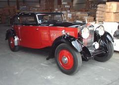 car vintage rolls royce