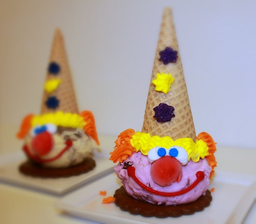 Clown Ice Cream Cone