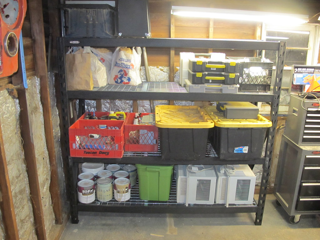Superieur Review: Whalen Industrial Rack Shelves ( From Costco )   The Garage Journal  Board