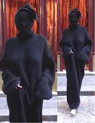 Better_Collor (facecover) Tags: sweater long mask faves runway totalcoverage