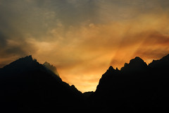 After the Sun Goes Down (bhophotos - not for much longer) Tags: travel sunset usa mountains nature clouds landscape geotagged nikon smoke wyoming tetons grandtetonnationalpark jennylake cascadecanyon gtnp d700 2470mmf28g