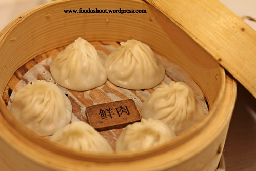 Fresh Pork Filling Steamed Bun