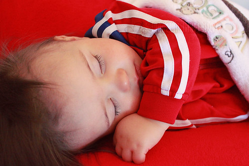 sleeping in color