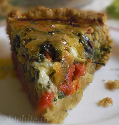 Healthy Vegetable Quiche