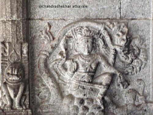 Sculpture in virupaksh temple