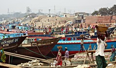 Heart of Darkness (sammsky) Tags: poverty construction poor cement labour shipyard soulless bangladesh physical chittagong hardworking toil