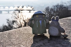 Friends (Andrea Peipe) Tags: prague totoro charlesbridge uglies babo myneighbourtotoro puckilovessushi