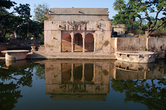 (  asaf pollak) Tags: old trees india reflection tree water nikon north structure pollack assaf rajasthan bundi     d80     asafpollak