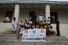 Tennis Clinic in Timor