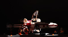 X-wing pre-flight checks (Blockaderunner) Tags: star lego luke xwing wars wedge skywalker antilles yavin
