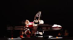 X-wing pre-flight checks (Blockaderunner) Tags: star lego luke xwing wars wedge skywalker antilles yavin