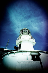 towards the sea (moaan) Tags: leica winter sky lighthouse clouds digital stand still south voigtlander bluesky f45 utata february distance 15mm kochi m9 superwideheliar muroto southwards  2011 standingstill  facingsouth voigtlanderheliar15mmf45 lookingintodistance leicam9 gettyimagesjapanq1 gettyimagesjapanq2