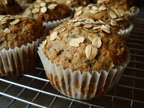 Fig & Bacon Buckwheat Muffin: From The Oven