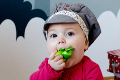 Gavroche cap ( Fufue ) Tags: pink red baby tree green point liberty turtle fabric cap casquette gavroche