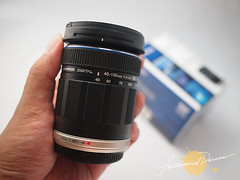Amazingly small and light telephoto lens