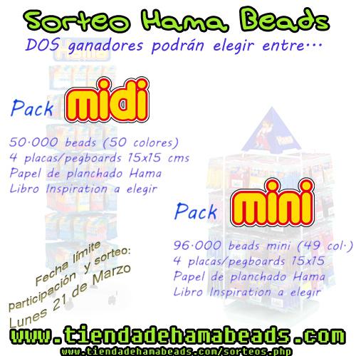 Sorteo TiendadeHamaBeads.com