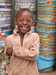 A Big Smile from a Little Girl (**El-Len**) Tags: africa portrait girl
