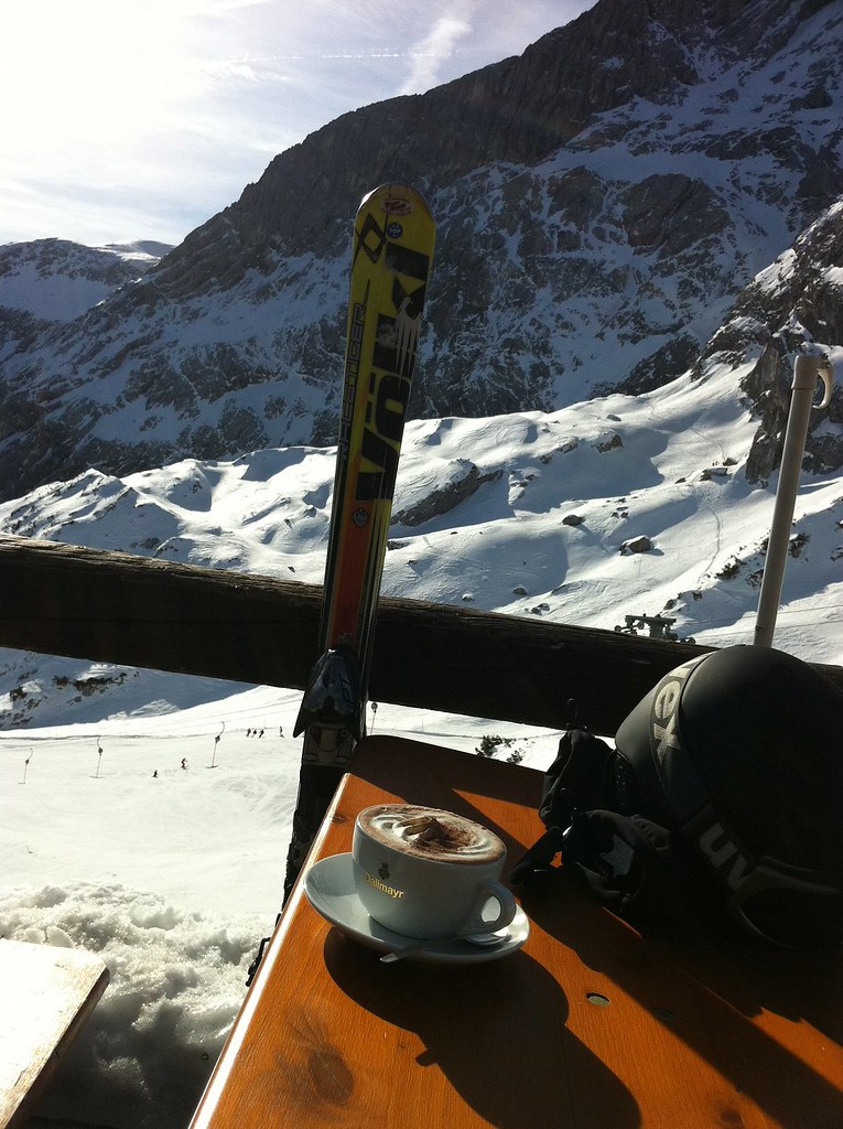 Pause im Restaurant Alpspitz