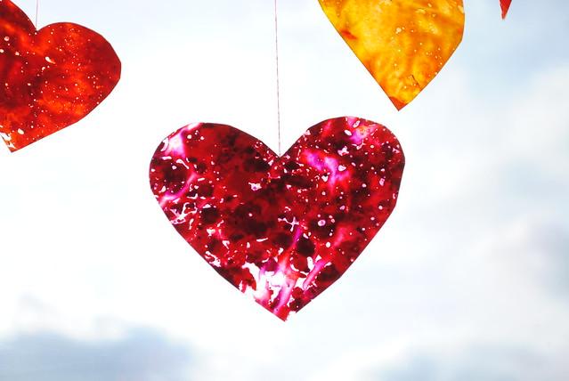 Crayon Hearts III